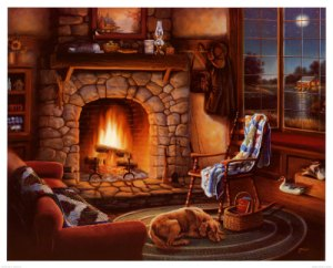Poster Cozy-Cabin-Posters
